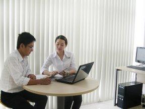 Cho thuê văn phòng diện tích trung bình