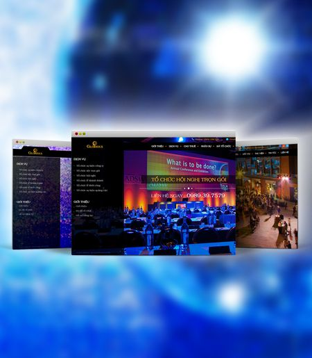Website - Tổ chức sự kiện