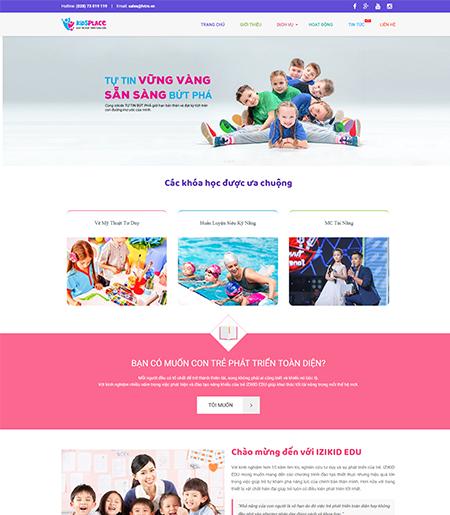 Website - Trung tâm kĩ năng