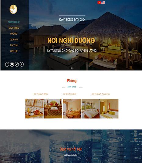Website - Resort & Khách sạn