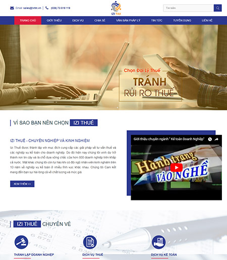 Website - Dịch vụ kế toán