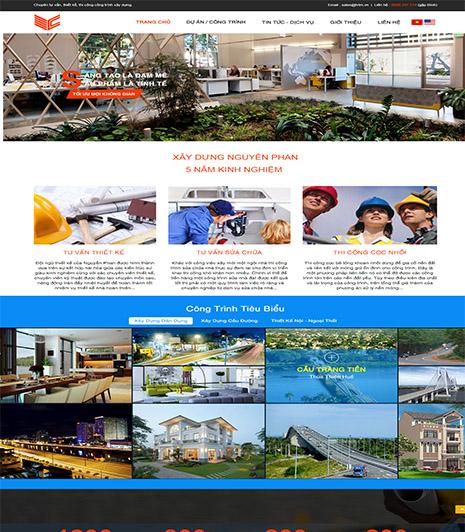 Website - Xây dựng công trình