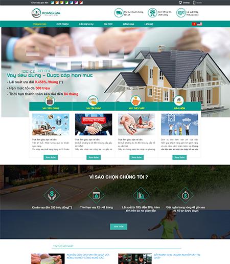 Website - Bảo hiểm & cho vay