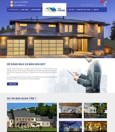 Website - Môi giới bất động sản